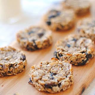 Guilt-Free Oatmeal Raisin Cookies.