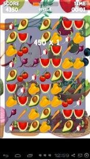 蔬菜匹配3遊戲