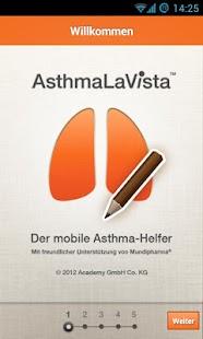 AsthmaLaVista Screenshot