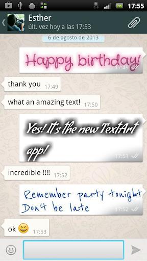TextArt u2605 Cool Text creator  screenshots 2