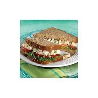 Whole Wheat Chicken Salad Sandwiches.