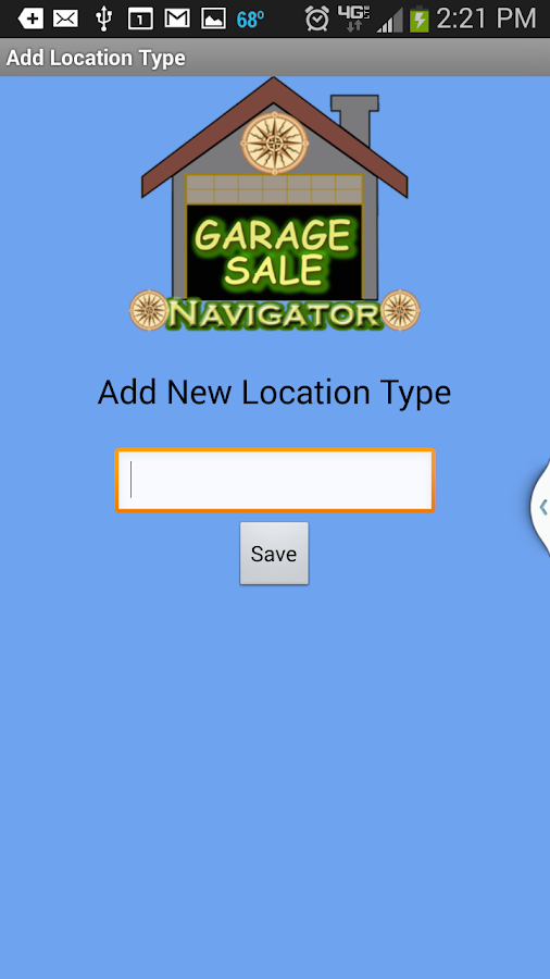 Garage & Yard Sale Navigator- screenshot