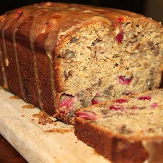 Cranberry-Pecan Banana Bread.