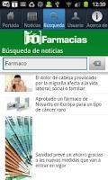 Screenshot of IM Farmacias
