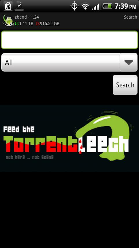Torrent Leech Droid Pro - screenshot