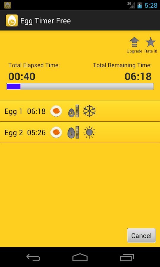 Egg Timer Free - screenshot