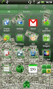 Go Launcher EX Theme Dollar - screenshot thumbnail