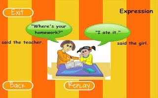 Screenshot of Fluency Level 3