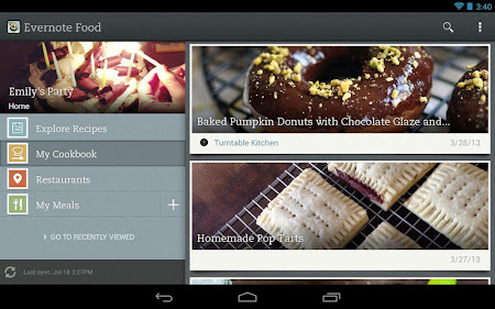 Evernote Food 2.0.7 screenshot 25141