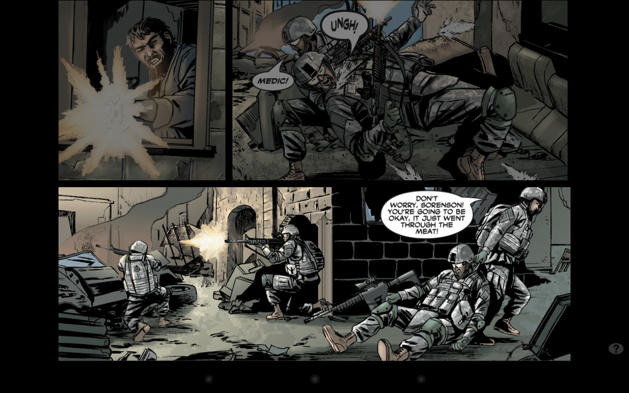America's Army Comics - screenshot