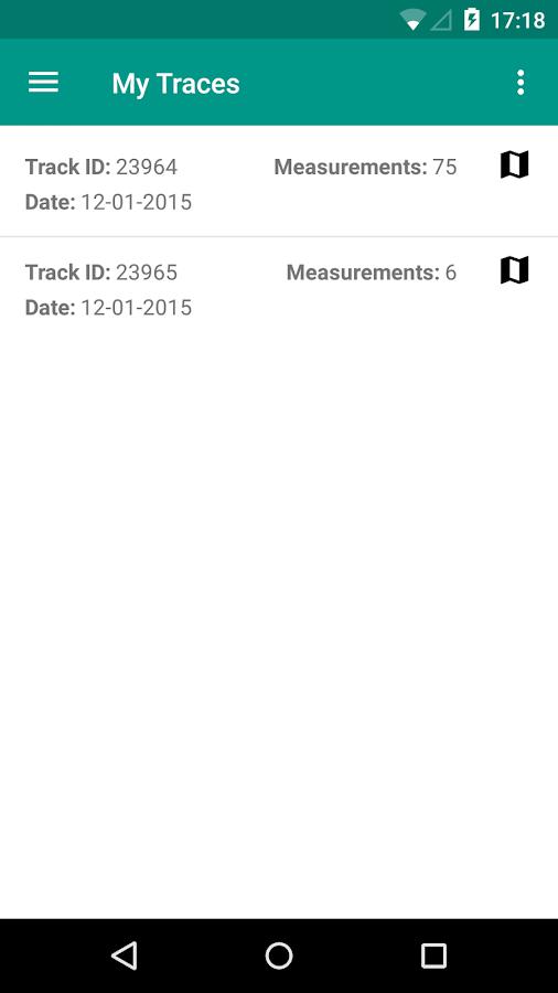 NoiseTube Mobile - screenshot