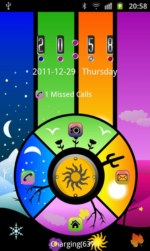 GO Locker Season Theme Seasons- screenshot