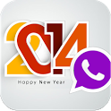 Whatsapp New Year Msgs 2014 icon