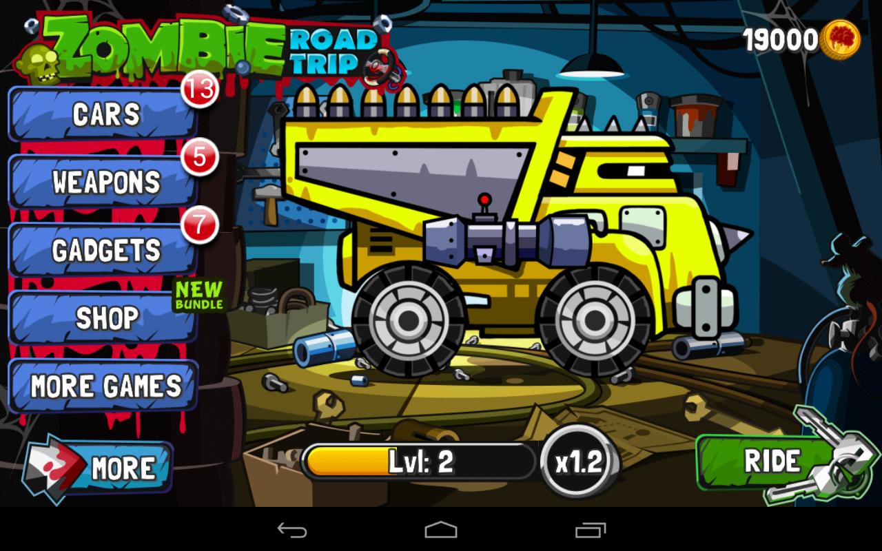 Zombie Road Trip screenshot #14
