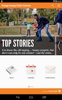 Screenshot of Orange County Public Schools