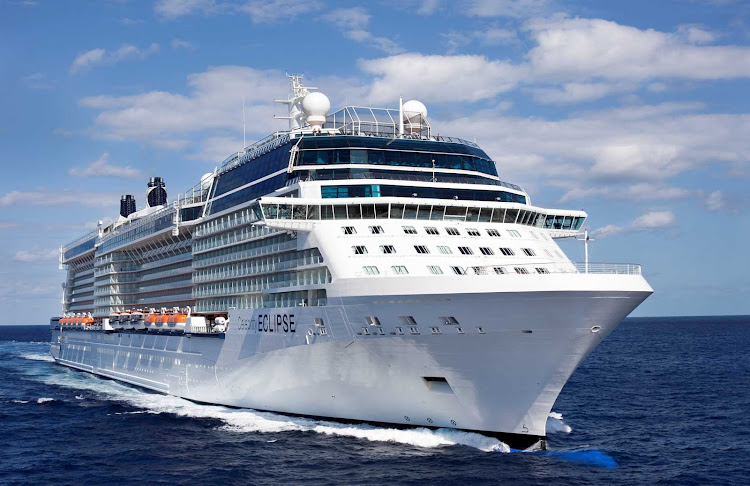 Celebrity Eclipse is one of five cruise ships in the fleet's Solstice class.