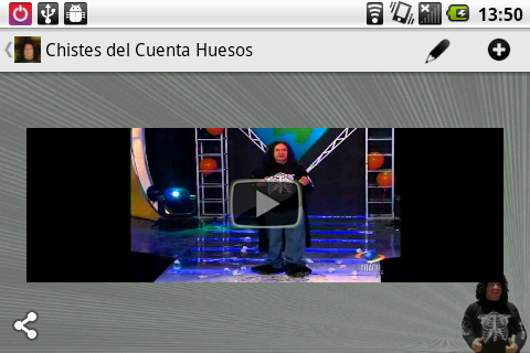 "Jokes from ""Cuenta Huesos""(Es) - screenshot"