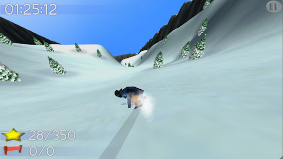 Big Mountain Snowboarding- screenshot thumbnail