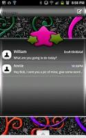 Screenshot of GO SMS - Star Shine