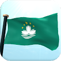 Macao Flag 3D Free Wallpaper icon