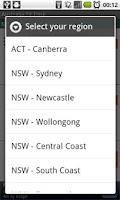 Screenshot of Australia TV Time