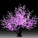 3D cherry blossom logo
