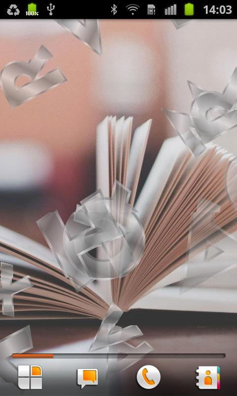 Books Live Wallpaper- screenshot