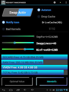 ROEHSOFT RAM Expander (SWAP) v3.68 [Patched] APK 7