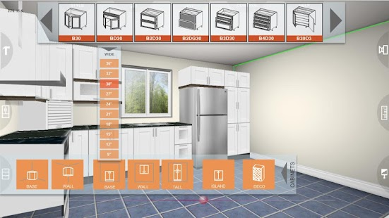 Udesignit Kitchen 3D Planner - Android Apps On Google Play