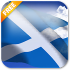 3D Scotland Flag LWP icon