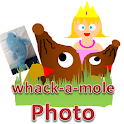 Photo Mole Attack 2( Princess) icon