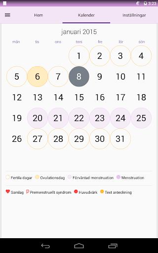 fertila dagar kalender