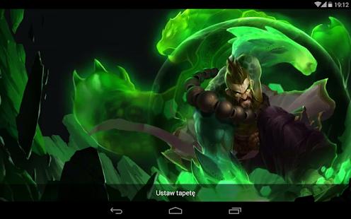 Download LoL Turtle Udyr Live Wallpaper APK For Laptop Download Android APK