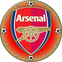Arsenal London Clock Widget icon