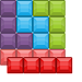 Blocks Way Icon