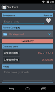 TimeJot - screenshot thumbnail