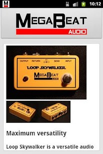 MegaBeat Audio News - screenshot thumbnail