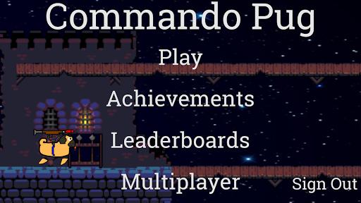 Commando Pug