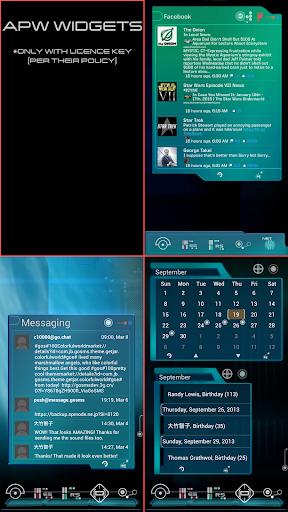 New Trek Info Widgets