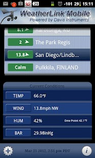 WeatherLink Mobile - screenshot thumbnail