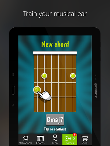 android Accordeur Guitares -GuitarTuna Screenshot 4