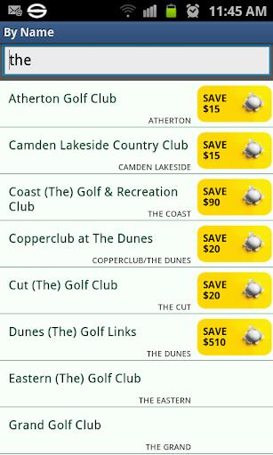 Golf Course Guide Aust Edition  screenshots 4