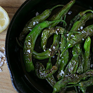 Sautéed Shisito Peppers.
