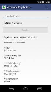 LeNiBa - N-Bilanz Leguminosen- screenshot thumbnail