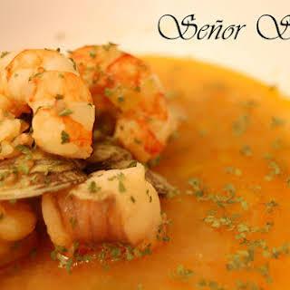 Christmas Shellfish Soup.