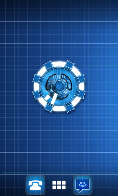 Arc Reactor Clock Widget Android Apps On Google Play