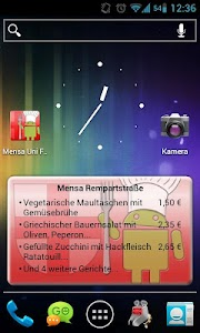 Mensa Freiburg screenshot 1