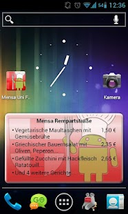 Mensa Freiburg - screenshot thumbnail