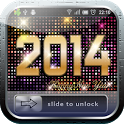 2014 New Year Lock Screen icon