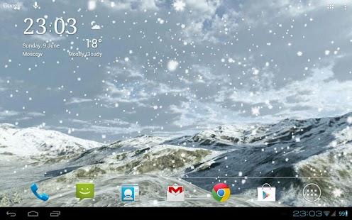玩個人化App|Snowfall 360° Live Wallpaper免費|APP試玩